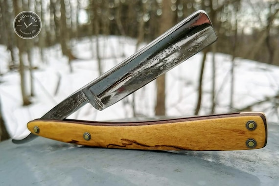 Restored Vintage Razor - New York State Blade and Woods