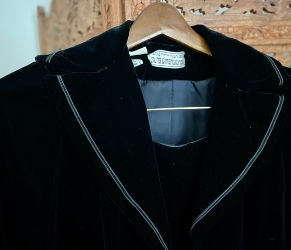 Vtg 1970s/80s   SAKS Fifth Avenue Young Dimensions