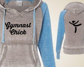Women's gymnastics sweatshirt - GymnastChick