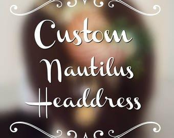 Custom Nautilus Mermaid Headdress