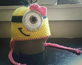 Girl's Minion Hat