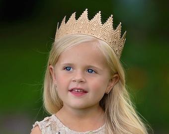Birthday Crown Toddler thru Adult - Aspen - Birthday Crown - Full Size - Photography Prop - Unisex - Gender Neutral