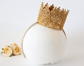 Crown Headband - Upgrade Add on - Crown - Hard Headband - Princess - Birthday - Crown not included