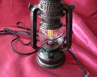 Vintage Electrical Hurricane Lamp