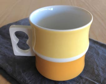 Block Chromatics Gold Brown mug Made in Germany