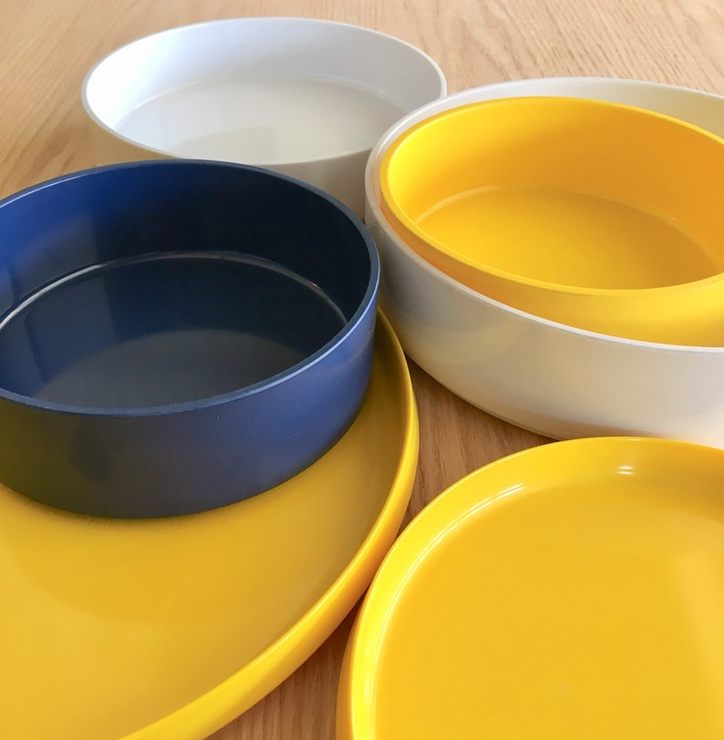 Oblique by PMC stacking bowls and plates sold individually various sizes
