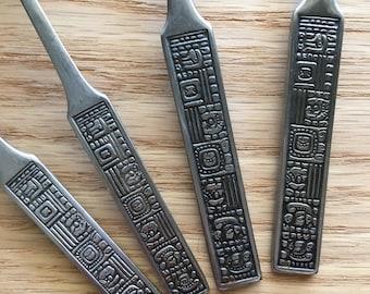 Aztec flatware by Orleans Japan