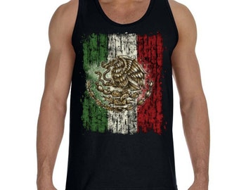 d0f4245d37653 Mexico Flag Men s Tank Top