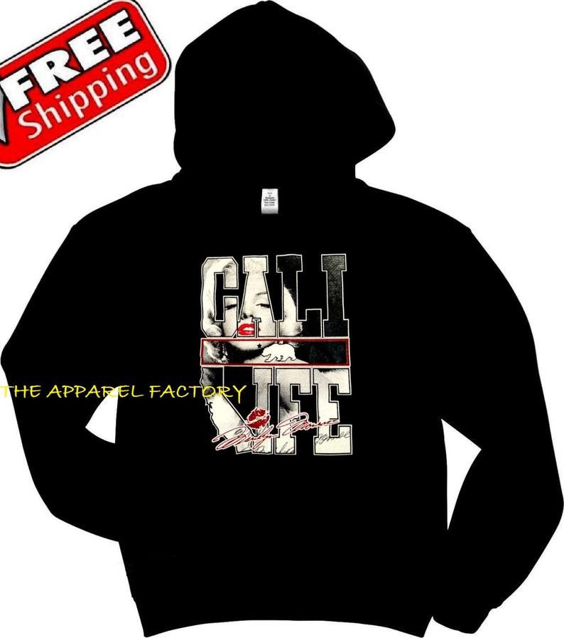 New Men/'s CALI LIFE Gray Sweatshirt pullover sweater california kush bear