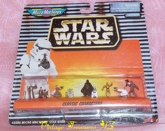 Vintage Star Wars Galoob Micro Machines Jabba The Hutt Battle Pack Ideal Original Boxed 1990s Vintage Toys Collectible Princess Leia Lando