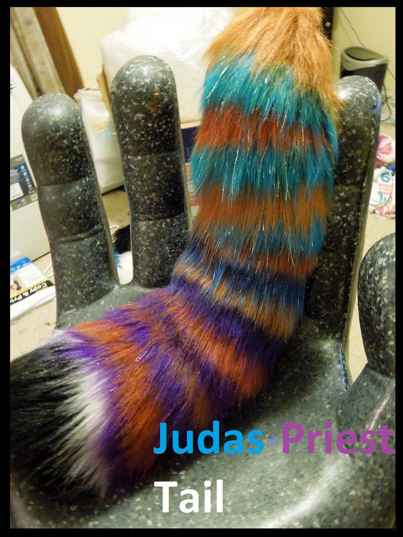 Made to Order Gifts Personalized Gifts Custom Fursuit Tail Commission Furry Tail Cosplay Tails Please provide your ref