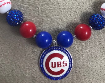 Chicago Cubs Necklace