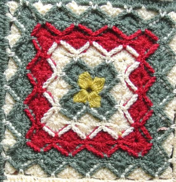Bavarian Crochet Blanket Etsy
