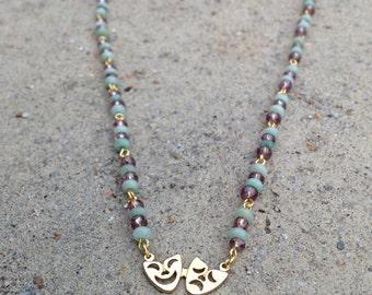 Mardi Gras Glass Beads - by Barb Fitz