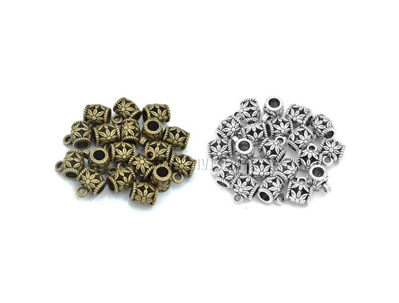 200 stücke Metall Glatte Gerade Rohr Spacer Perlenschmuck Finden DIY