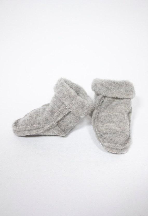 Chaussettes en laine mérinos bébé prématuré / chaussons / chaussettes de laine mérinos du nouveau-né