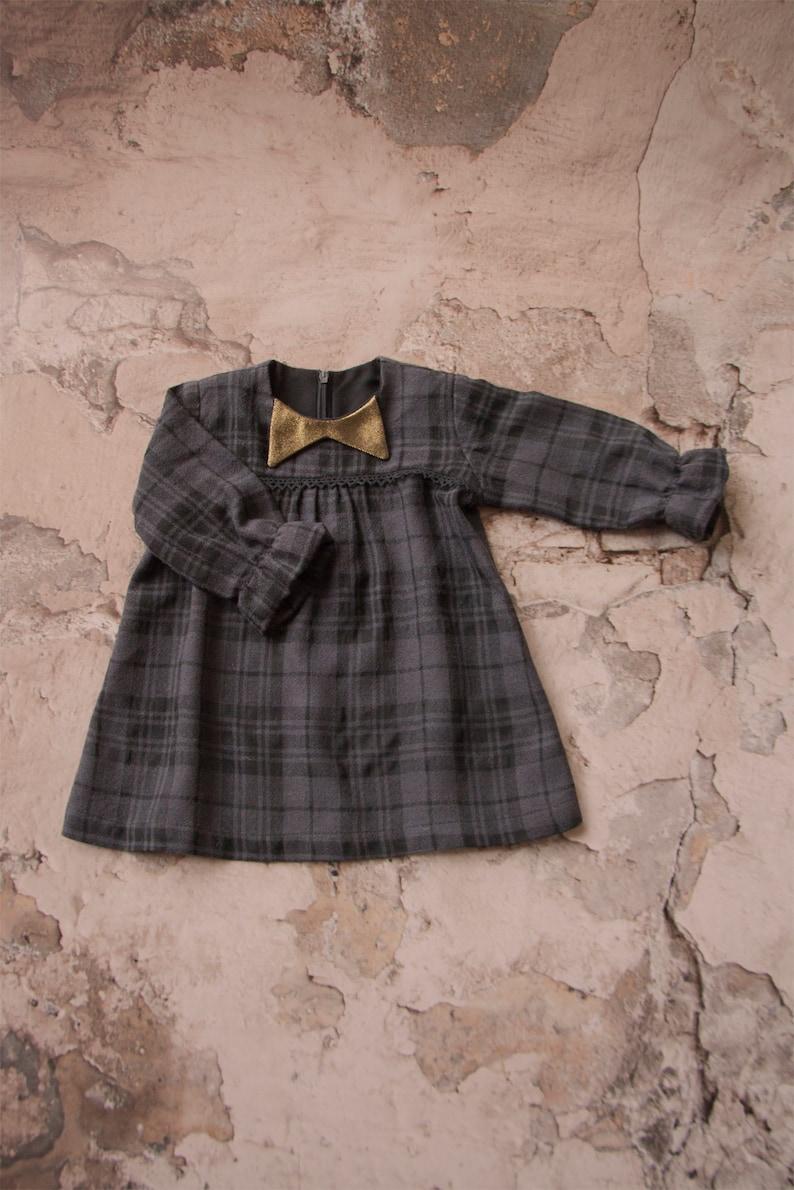 122f80a4839 NEW soft wool baby girl dress girl winter dress  lovely winter
