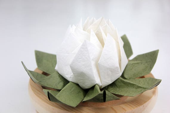 Origami Waterlily Or Lotus Flower Happy Chinese New Year 2018 ... | 380x570