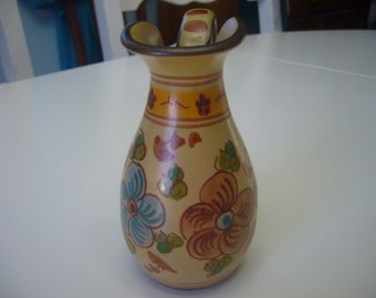 Small Hand painted Pitcher, Made in Portugal.
