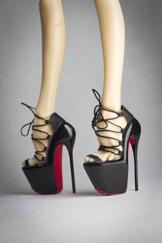 ursi sarna - platform shoes for PASHA PASHA heels doll - Japan style heels PASHA 9e3266