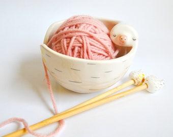 Yarn Bowls and Needles