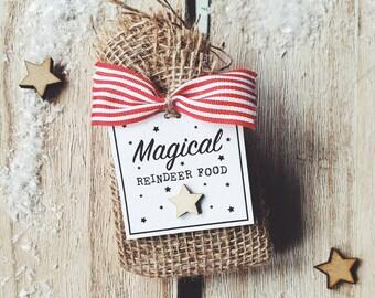 Magical Reindeer Food For Santa's Reindeer On Christmas Eve, Christmas Tradition, Magical Christmas
