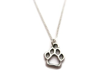 Gold paw necklace tiny paw print necklace vermeil paw dog paw necklace paw print necklace paw necklace pet lover necklace dog paw jewelry paw print jewelry paw jewelry pet parent gifts aloadofball Gallery
