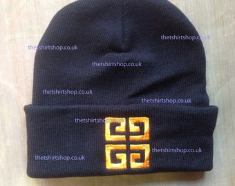 f47096d4609 Givenchy logo beanie hat