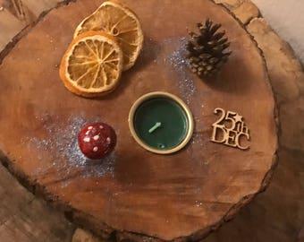 Christmas Candleholders