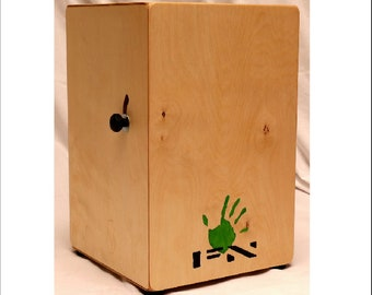 Cajon Drum - Adjustable Snare - Handmade In The UK