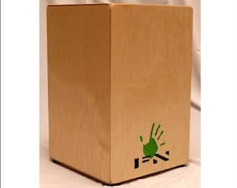 Cajon Drum - Internal Snare - Handmade In The UK