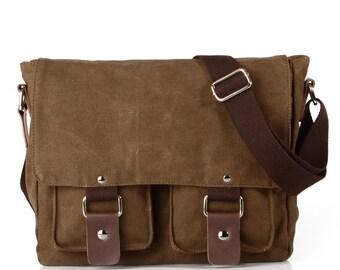 00e93ead2e Canvas messenger bag