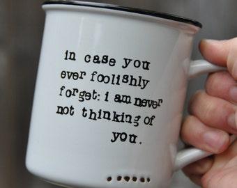 Anniversary gift for boyfriend gift for him gift for men gift for husband gifts for men first anniversary paper anniversary coffee mug