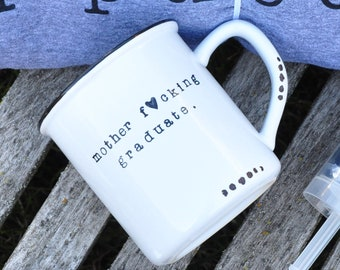 Graduation gifts for her college graduation high school grad class of 2018 she believed she could so she did personalized grad gift mug