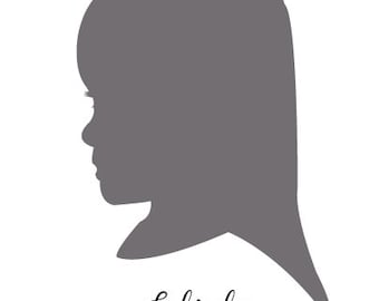 Custom Child Silhouettes