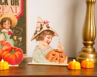 Halloween Decoration Pumpkin wooden ornament, fall decor, halloween decor laser cut unique halloween decor