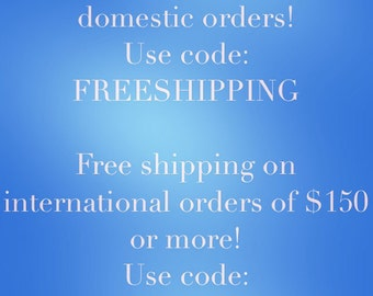 69ece1f3d9d2de Free shipping on domestic orders (no minimum) and international orders of  150 or more