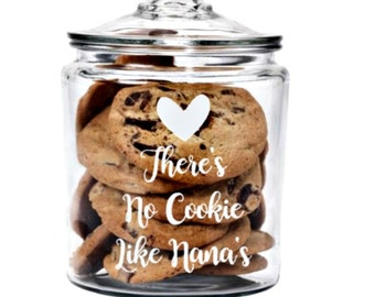 Cookie Jar for Grandmother, Gift for Nana,  Gift for Grandma, Nonna Gift, Gift for Mom, Mom Gift, Grandma Gift, Birthday, Christmas Gift