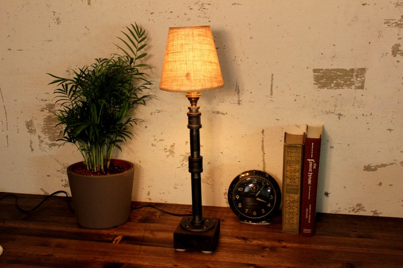 Industrial Lighting Steampunk Lamp Table Lamp Edison Etsy
