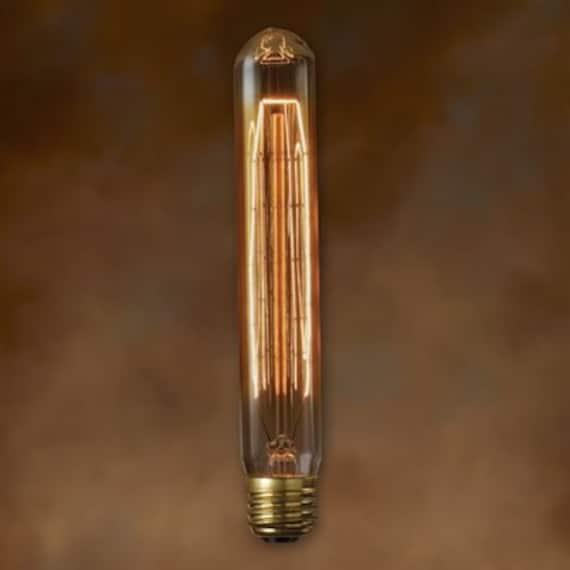 Tube style Edison light bulb