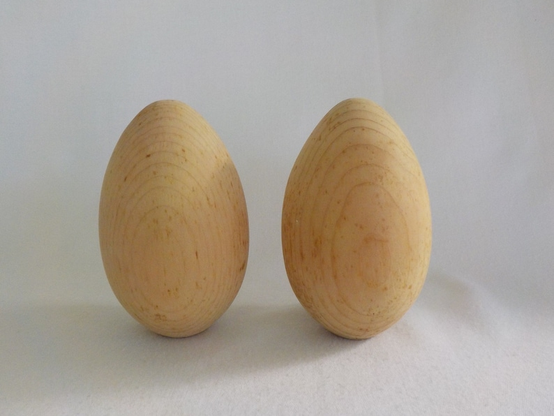 """Wooden Craft Easter Eggs Shape  Siz 2/"""" X 1.75/"""" 1//8/"""" Thick  50 Pcs"""