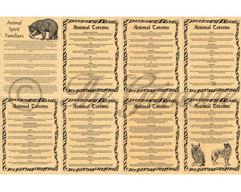 Real Book of Shadows 150 Illustrated Pages Wicca   Etsy