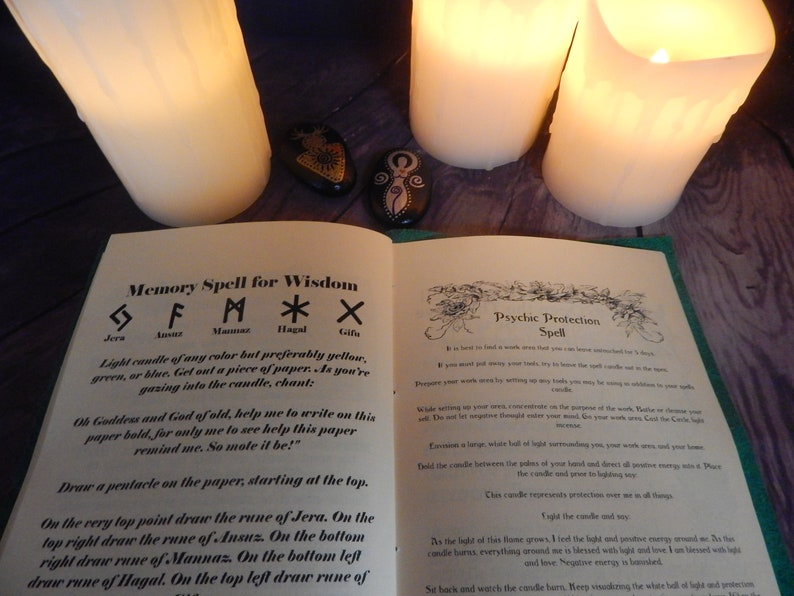 Real Book of Shadows, 150 Illustrated Pages, Wicca, Witchcraft, Book of  Shadows Spells, Real Witchcraft Spells