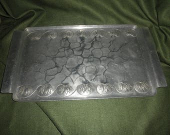 Smith Palmer Aluminum Serving Tray with Design