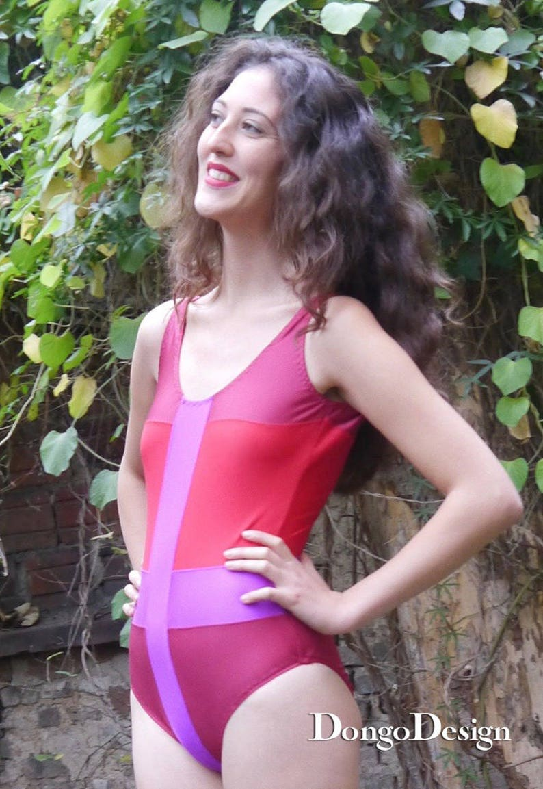 PDF Sewing Pattern swimsuit Behind Enemy Lines PDF File with Ebook sewing instructions