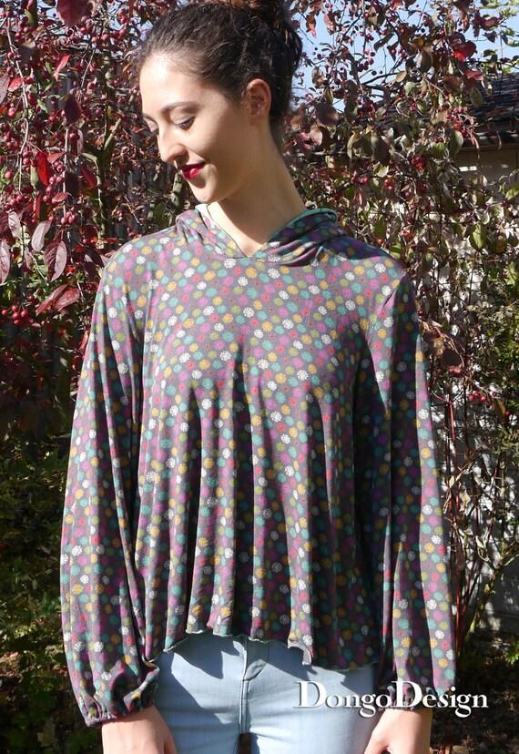 PDF Schnittmuster Melanie supereasy Jerseyshirt mit E-Book | Etsy
