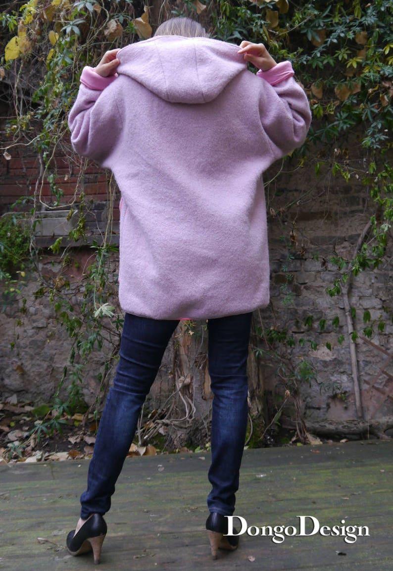 PDF sewing Pattern jacket coat Frieda with EBook instruction