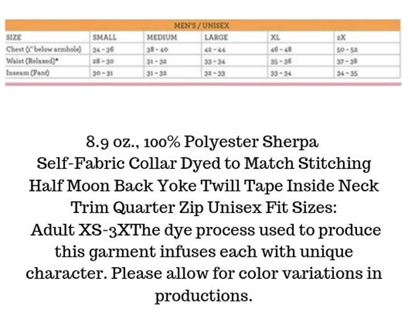 Monogrammed Plaid Sherpa Pullover Garnet