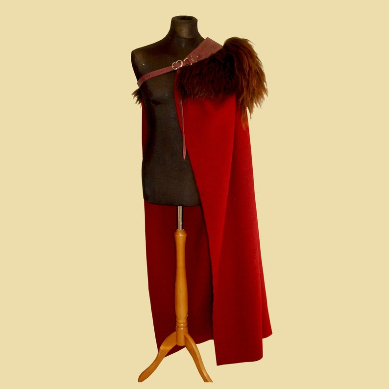 Heavy Musketeer Cloak