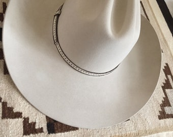 0b13c7aaf20 Vintage Resistol for Sheplers 7 1 4 Long Oval Cattleman Cowboy Hat